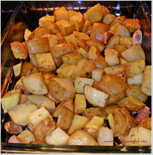 Patatessarımsaklı